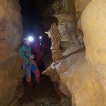 Initiation spéléo - grotte du jura