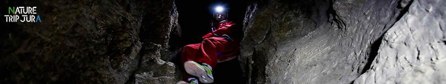 A la découverte des grottes du JUra exploration d'une journée avec Trip Nature Jura