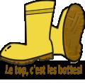 bottes pour activite speleo jura